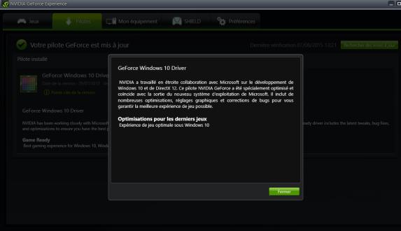 Nvidia Win 10