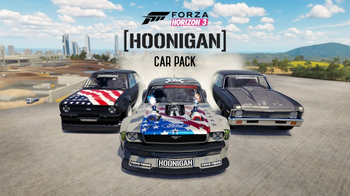 FH3 Hoonigan Car Pack Trailer Thumb